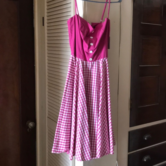 Hell Bunny Dresses & Skirts - Pink hell bunny dress xs